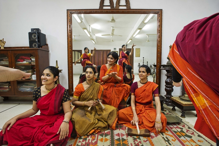 Bild på: Workshop i Bharatanatyam